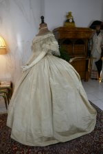14 antique ball gown 1859