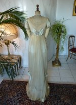17 antique WORTH Evening Gown 1906