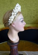11 antique wax tiara 1912