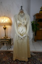 antique wedding dress 1915