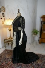 20 antique dinner dress Hamburg 1906