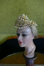 5 antique wax crown 1880
