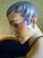 19 antique wax mannequin 1920