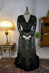 antique evening dress 1903