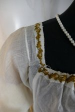 9 antique empire dress 1802