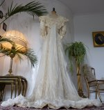 27 antique bridal gown