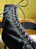 18 antique lace up boots 1867