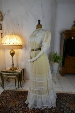 13 antique tea gown 1903