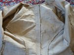 106 antique silk jacket 1750
