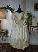 8 antique wedding ensemble 1835
