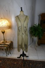 2 antique flapper dress 1920