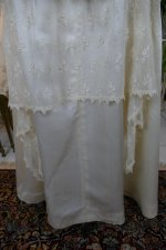 6 antique wedding dress Barcelona 1908