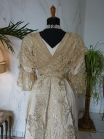 36 antikes Abendkleid Worth 1910