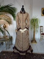 2 antikes Reisekleid 1879