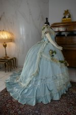 37 antique victorian ball gown 1859