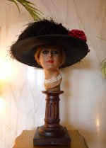6 antique hat