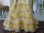 39 antique evening gown Duval Eagan 1889