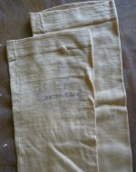 22 antique Balbriggan stockings