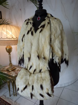 antique ermine cape