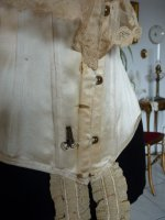 113 antique victorian corset 1895