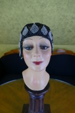 5 antique gage brothers cloche 1920s