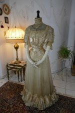11a antique ball gown 1900