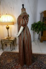 11 antique romantic Period dress 1825