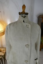 3 antique duster coat 1908