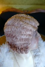 20 antique hair cloche 1920