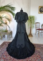 42a antique Worth evening dress 1898