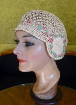 6 antique boudoir cap