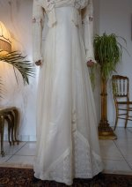 7 antique wedding dress 1910