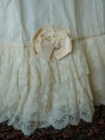 3 antique petticoat