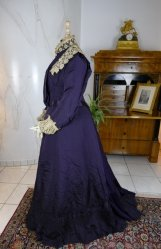 antique Madame Percy Visiting gown 1898