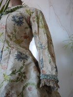 10 antique silk jacket 1750