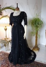 2 antique ball dress 1901