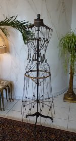 2 antique wire dressmakerform 1881