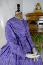 23 antique crinoline dress 1860