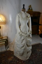 3 antique wedding dress 1878