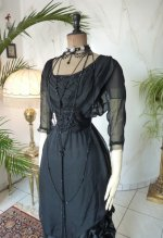 12 antique evening gown 1909