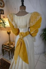 26antique evening dress 1895