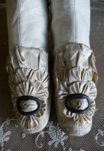 3 antique wedding boots 1855