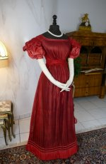 10 antique gauze dress 1828