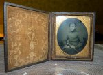 1 antique ambrotype 1860