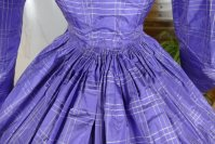 28 antique crinoline dress 1860