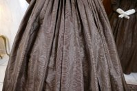23 antique afternoon dress 1840
