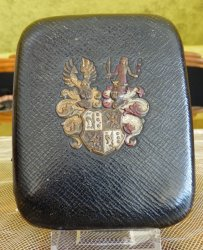 antique leather case