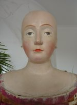 4 antique mannequin 1800