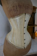 5 antique PD Marcel corset 1900