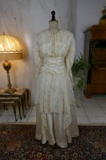 16 antique wedding dress Barcelona 1908